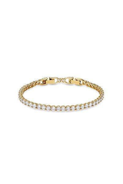 Swarovski Bileklik Tennis Dlx-bracelet Rnd Dlx Czwh-gos . M 5511544
