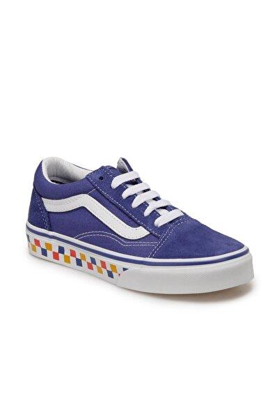 Vans Erkek Çocuk Mavi  Uy Old Skool Mavi Sneaker Ayakkabı