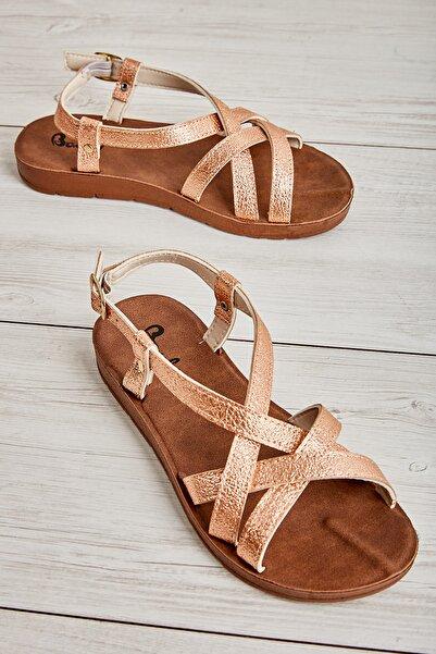 Bambi Rose Kadın Sandalet L0642830010