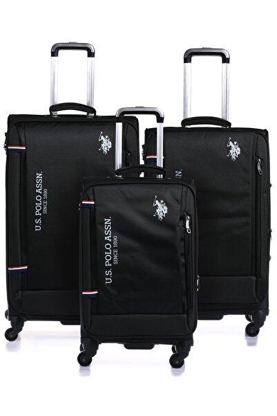U.S. Polo Assn. Plvlz8077-set Siyah Unısex Set Valiz