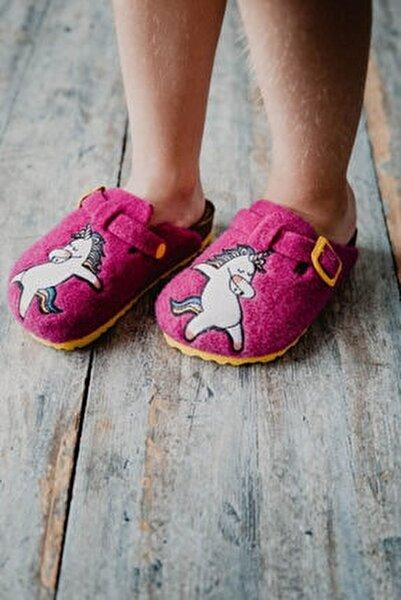 Unicorn Çocuk Terlik - Pembe