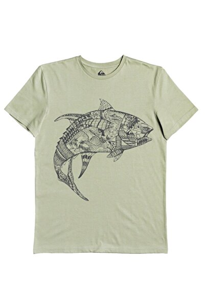 Quiksilver Tattoo Tuna M Tees Ghj0 T-shirt