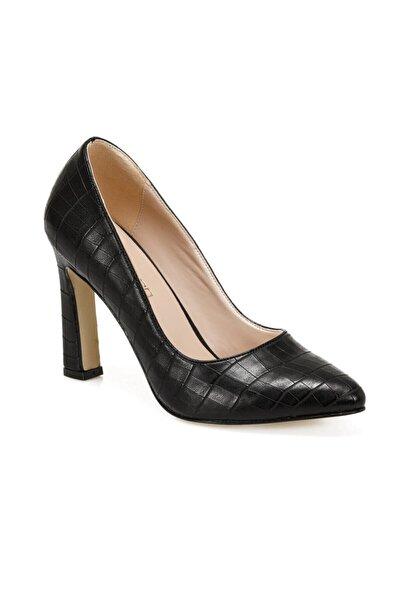 Butigo Ava Siyah Kadın Topuklu Ayakkabı