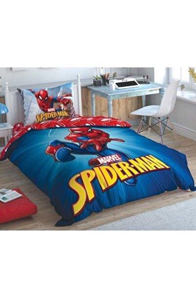 Taç Lisanslı Spiderman Time To Move Tek Kişilik Nevresim Takımı