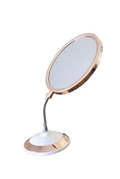 Çift Taraflı 360 Derece Eğilebilir Büyüteçli Makyaj Aynası