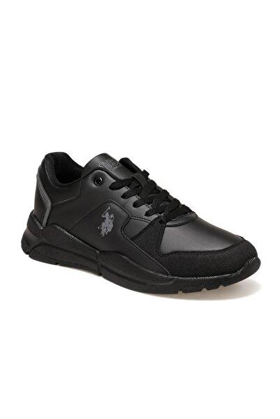 U.S. Polo Assn. Calabrıa Siyah Erkek Sneaker Ayakkabı