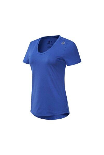 Reebok WOR SW TEE Mavi Kadın T-Shirt 100584397