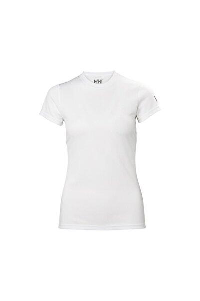 Helly Hansen W Techt Kadın T-shirt Beyaz