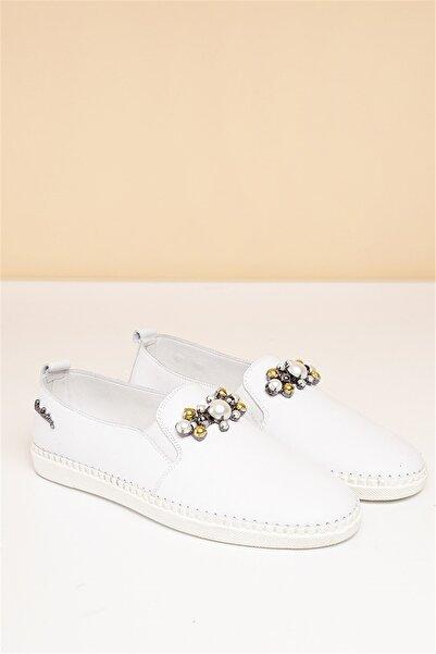 Pierre Cardin Kadın Günlük Ayakkabı-beyaz Pc-5056