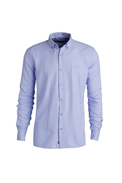 Bad Bear Erkek Gömlek Oxford Shırt Blue