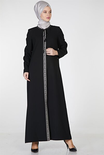 Tuğba Pardesü-siyah Tk-z7148-09