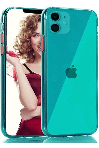 zore Apple Iphone 11 Kılıf Pastel Renkli Esnek Ince Şeffaf Kapak