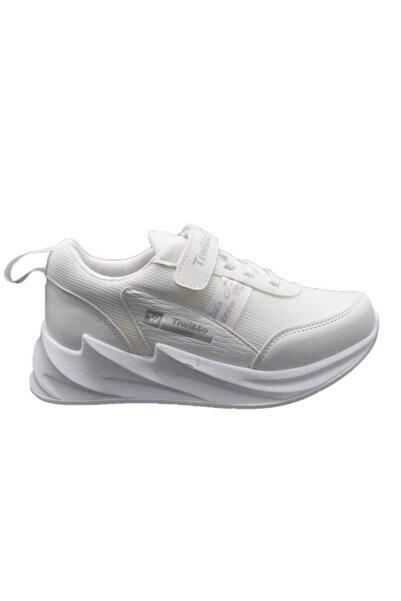 Tiwittoys P11 Beyaz Çocuk Spor Ayakkabı