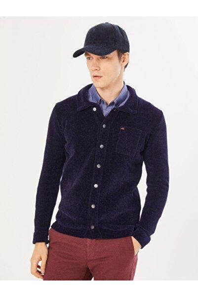 Xint Xınt Pamuklu Slim Fit Triko Ceket