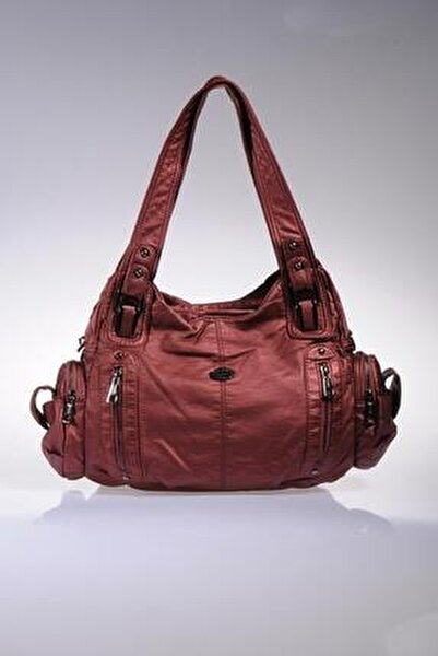 Fscnth0103-new Dark Red New Dark Red Kadın Omuz Çantası