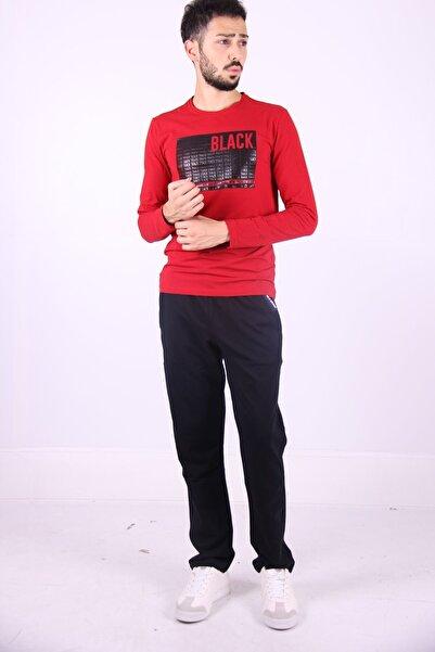 New Brand Erkek Eşofman Düz Paça 02631