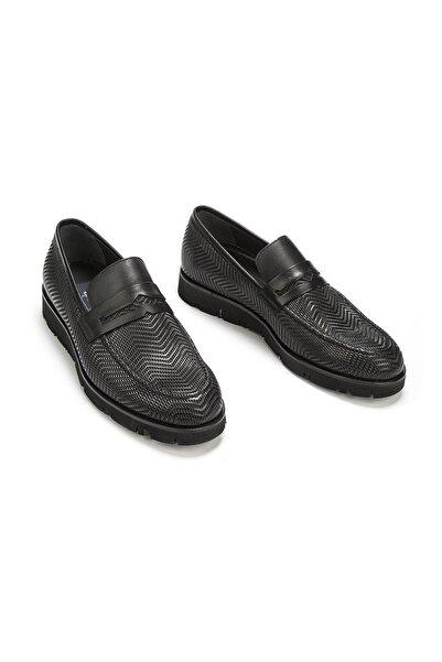 Efor 4211 Siyah Klasik Ayakkabı