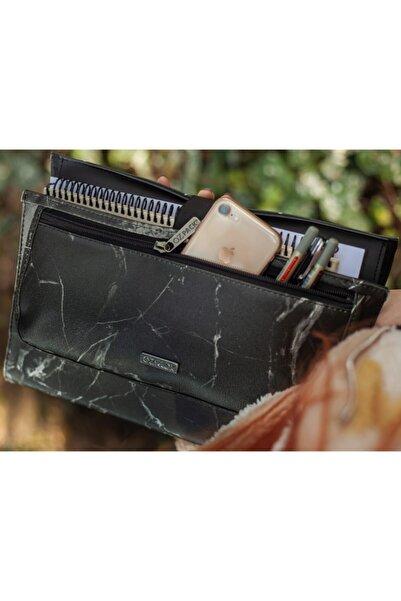 OZPACK Marble Black Orta Laptop