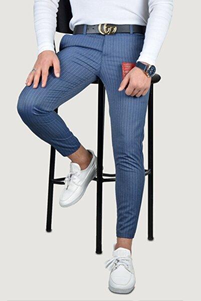 Terapi Men Erkek Keten Pantolon 8k-2200133-049 Indigo