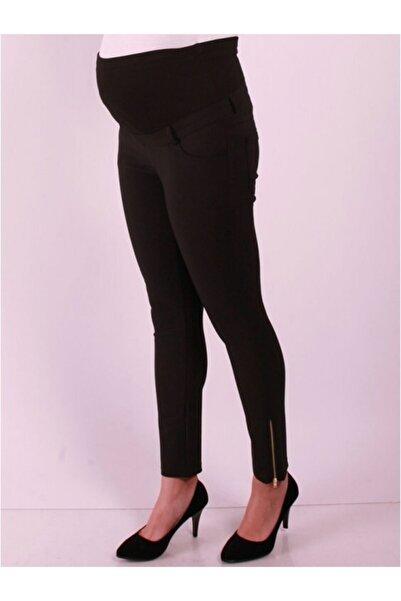 Işşıl Hamile Giyim Power Stretch Fermuar Paca Pantolon