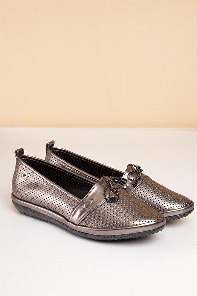 Pierre Cardin Pc-50091 Platin Kadın Ayakkabı