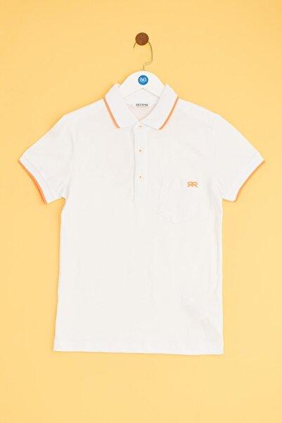 Riccione Erkek Çocuk Beyaz T-shirt 19ss0rr3506