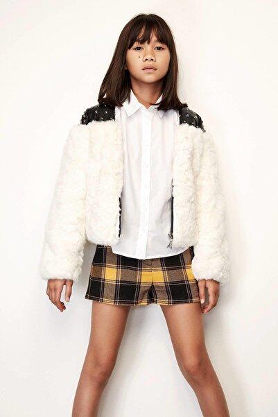 Patrizia Pepe Kız Çocuk Ekru Ceket