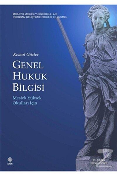 Ekin Basım Yayın Genel Hukuk Bilgisi