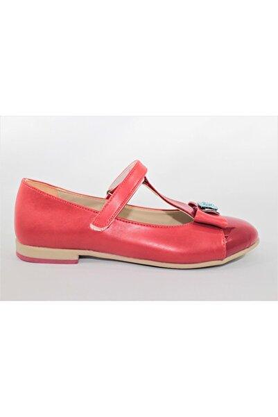 Vicco Kırmızı Kız Çocuk Babet 913.u.607