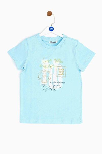 Riccione Erkek Bebek Mavi T-shirt 19ss0rr1522