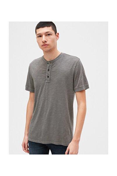 GAP Henley Kısa Kollu T-shirt