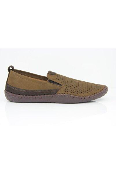 Mammamia 7165 Hakiki Deri Casual Günlük Confort Erkek Ayakkabısı