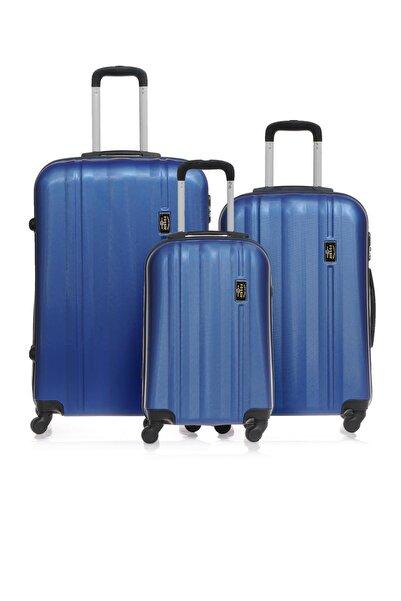 Fossil Fsy1225y-set Mavi Unisex 3 Lü Set Bavul