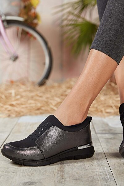 DARK SEER Platin Kadın Sneaker
