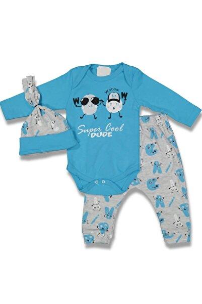 Miniworld Süper Cool Erkek Bebek 3 Lü Takım
