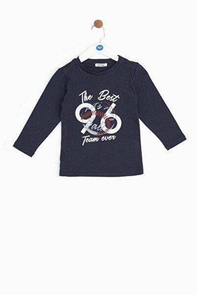 Riccione Erkek Bebek Lacivert T-shirt