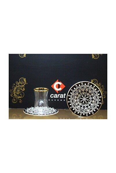 Carat Laboratories Carat 6 Lı Çay Bardağı Seti Motif