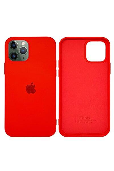 Joyroom Apple Iphone 12 Mini Lansman Kılıf Mikro Fiber Iç Yüzey Kırmızı