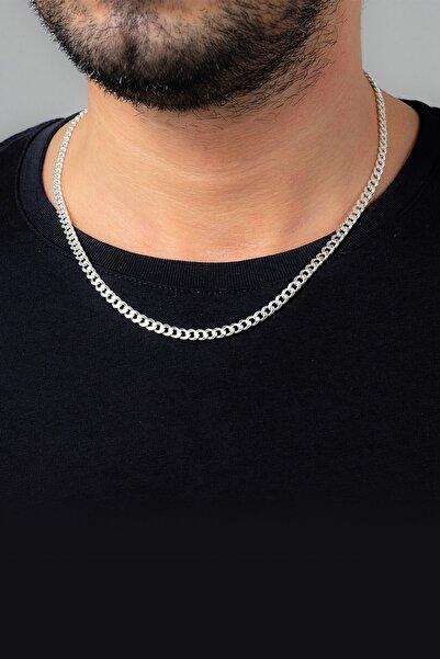 Ventino Silver Gurmet Gümüş Erkek Zincir Kolye Vek-3019