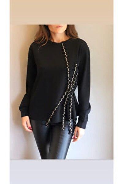 Kadın Gina Siyah Sweatshirt 18k30