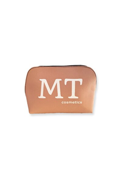 Makeuptime Mt Mat Deri Makyaj Çantası Pudra