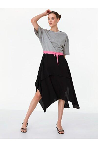 Twist Asimetrik Elbise