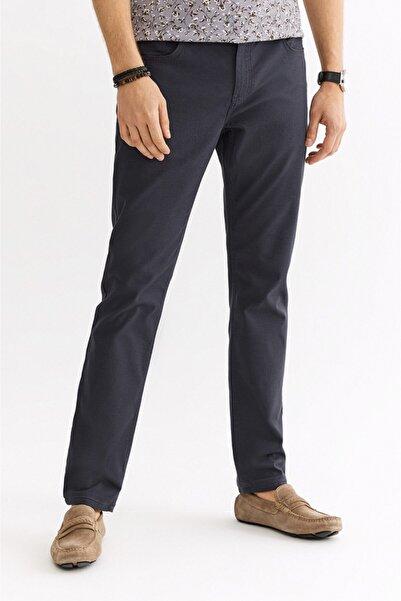 Avva Erkek Antrasit 5 Cepli Armürlü Slim Fit Pantolon A01s3072