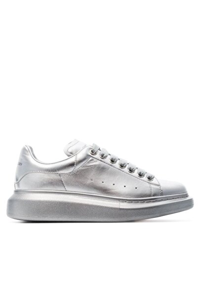 ALEXANDER MCQUEEN Kadın Gümüş Sneaker Ayakkabı