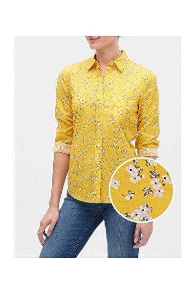 GAP Desenli Uzun Kollu Gömlek