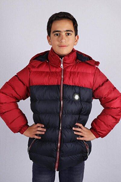 Milan Çocuk Club 9--12 Yaş Erkek Çocuk Mont Kaban Kırmızı Renk