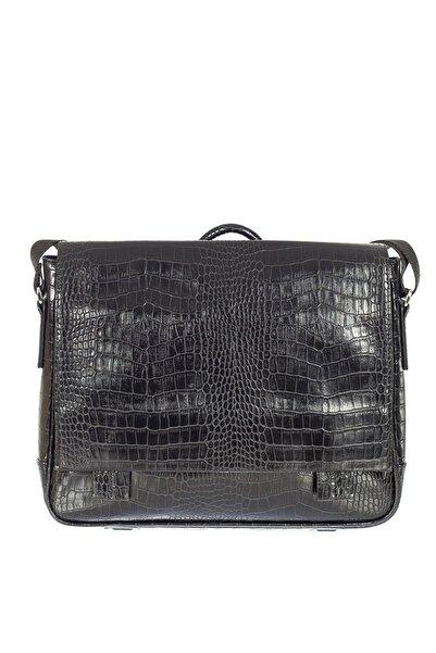 Sergio Giorgianni Luxury Sg89018 Siyah Unisex Evrak Çantası