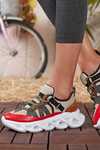DARK SEER Kırmızı Kadın Sneaker