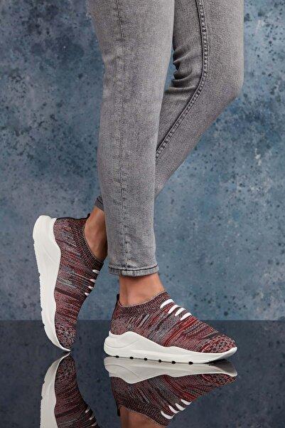 DARK SEER Bordo Kadın Sneaker