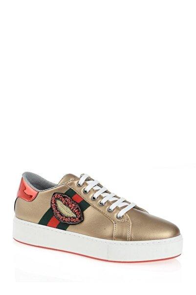 Derigo Altın Dudak Kadın Casuel Ayakkabı 221701